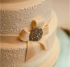 Icing ribbon on Vintage Wedding Cake