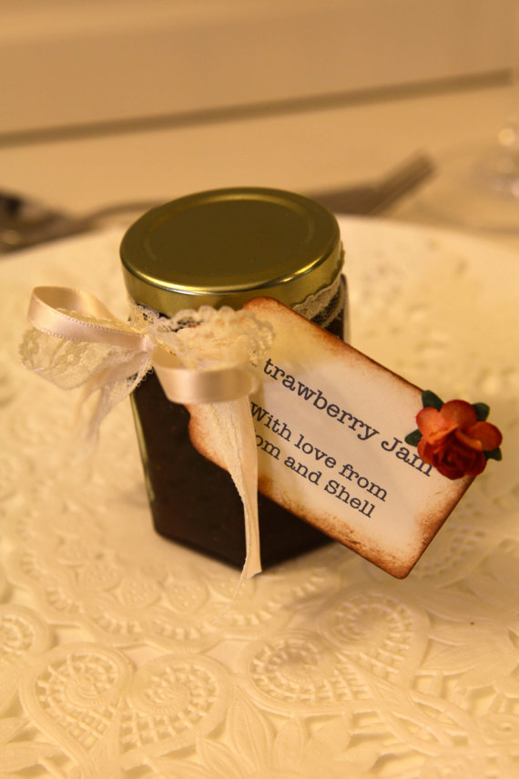 DIY Jam Wedding Favour