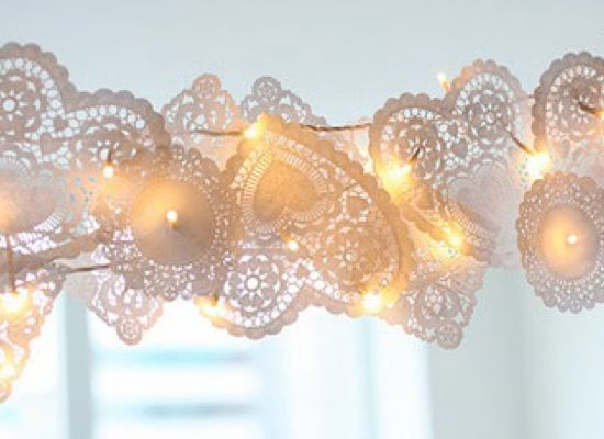 Make your own vintage fairy lights